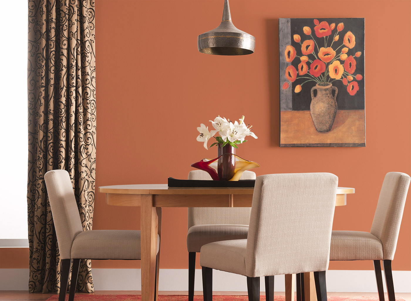 living room paint color selector