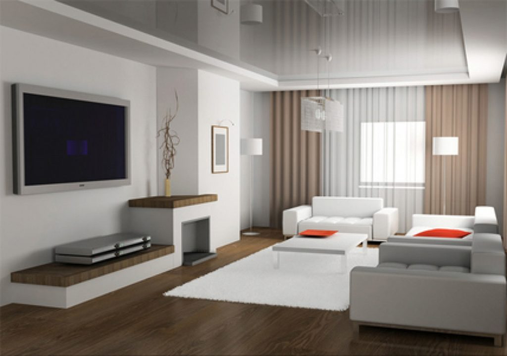 living room simple decoration
