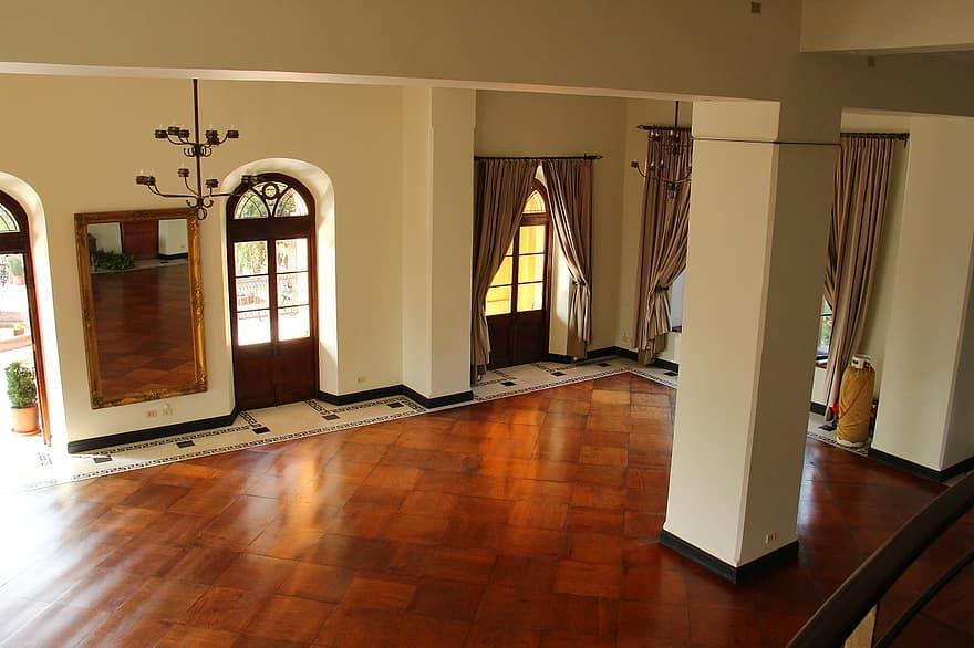 living room wood floor tarpaulin colonial elegant