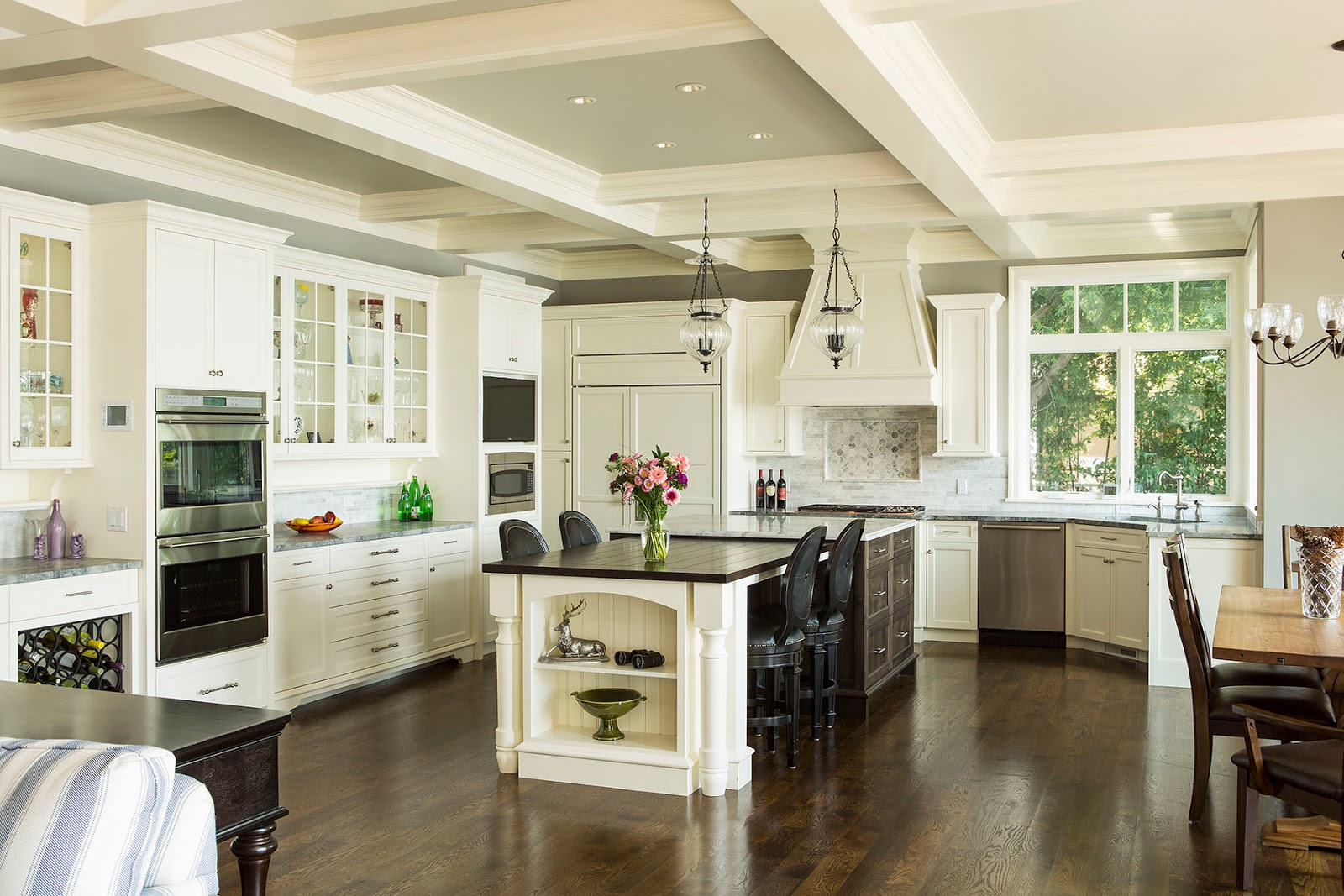 modern combine with classic style wooden ideas