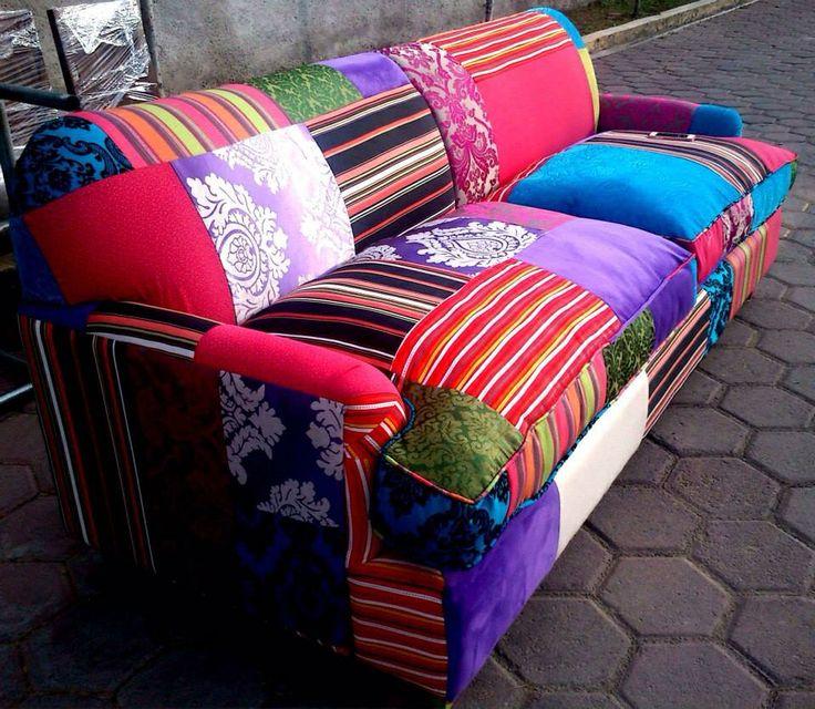multicolor sofa