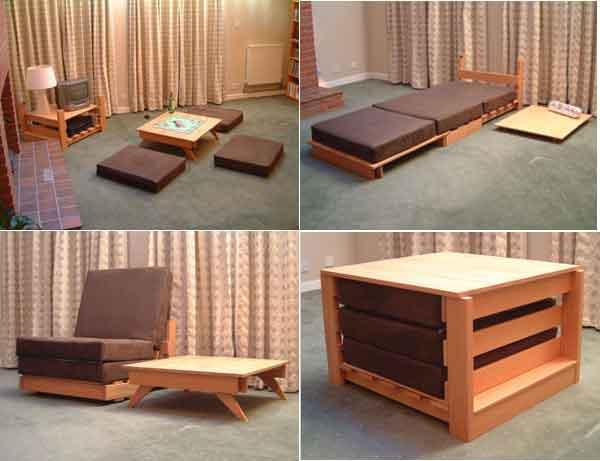multifunctional furniture sets