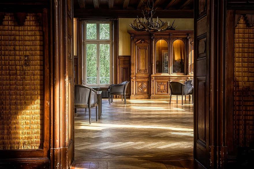 room space parquet salon smoking rooms wood chair wood floor lichtraum