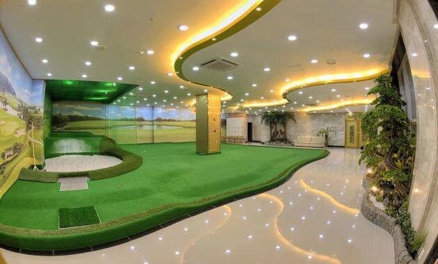 screen golf golf putting