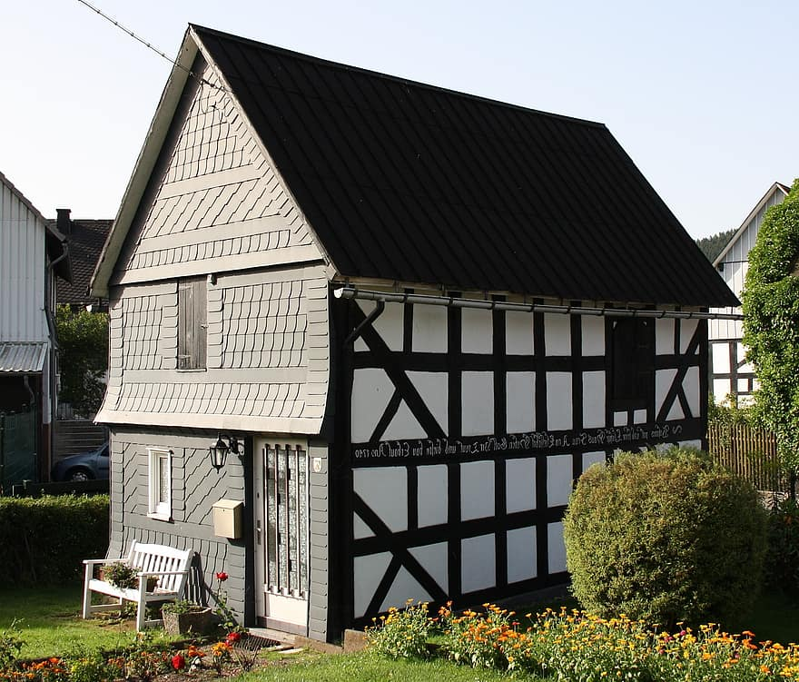 sheep shelter wunderthausen heritage monument berleburg cultural building small old