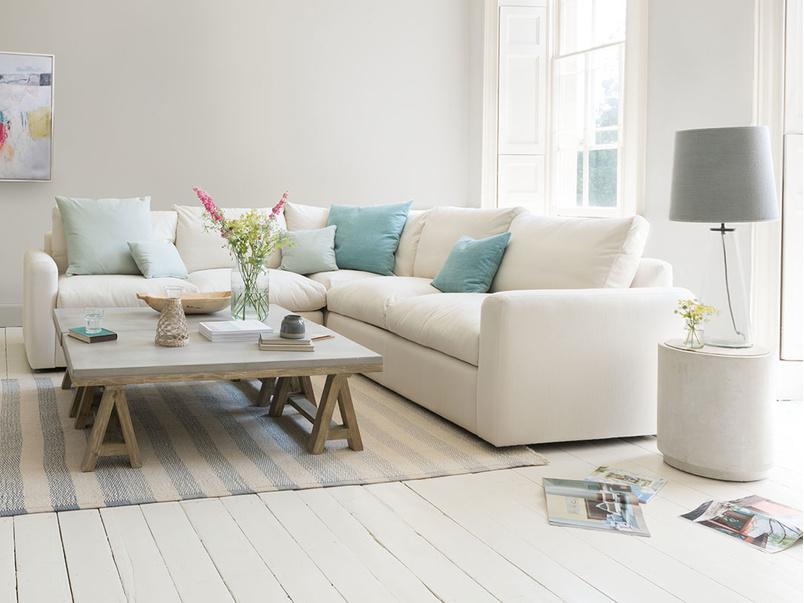 sofa bed set bright color