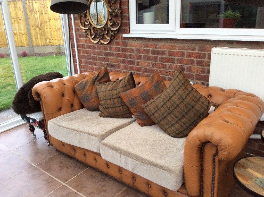sofa fabric leather type