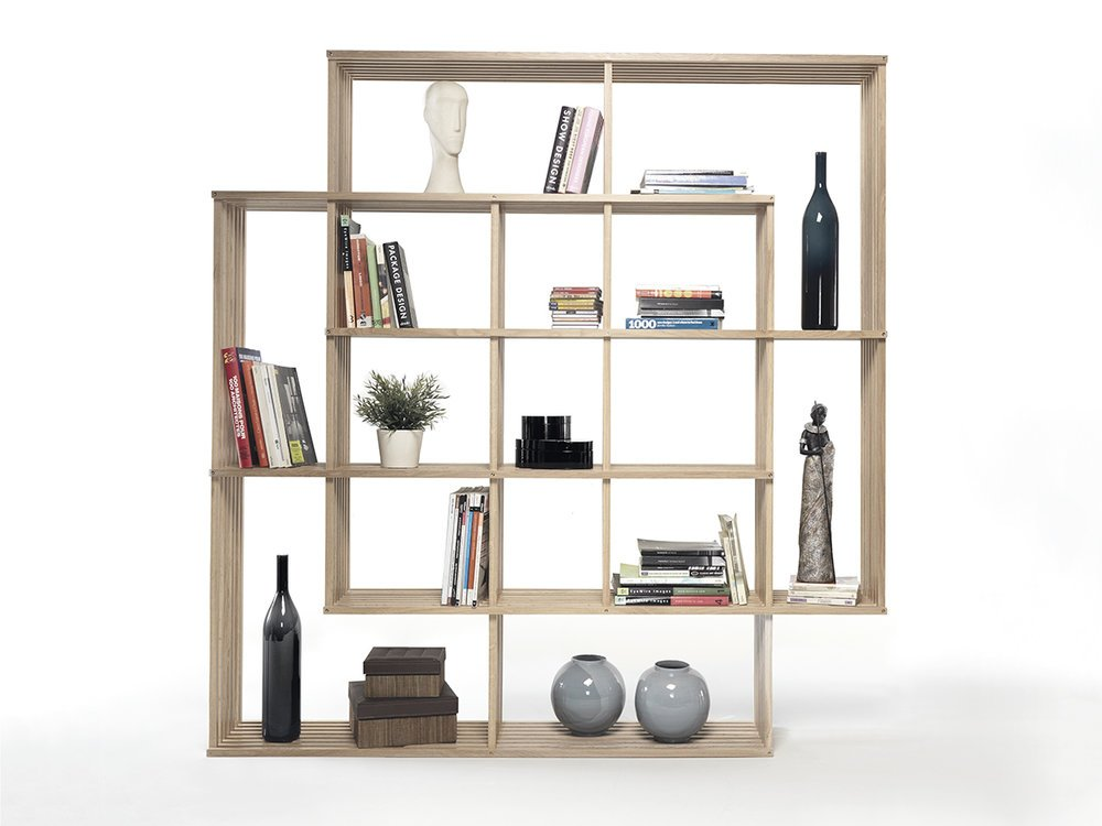 spatial bookshelf
