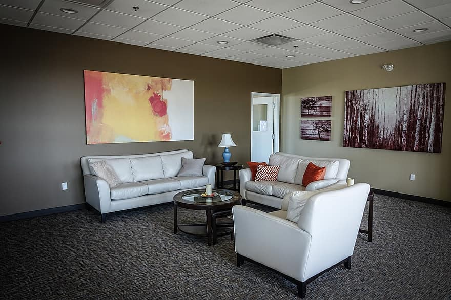 waiting room couch painting waiting room interior sofa indoor modern 1