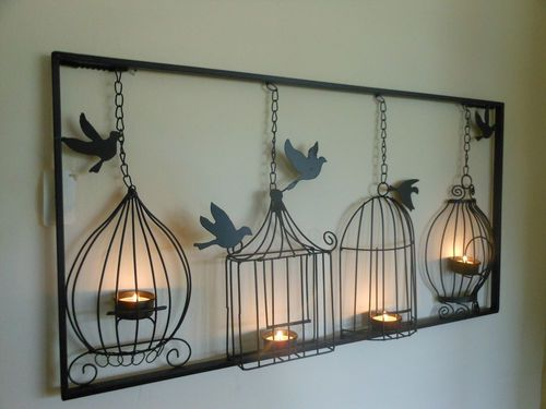 wall art hanging chandelier