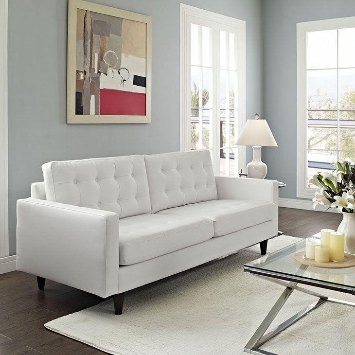 white sofa design