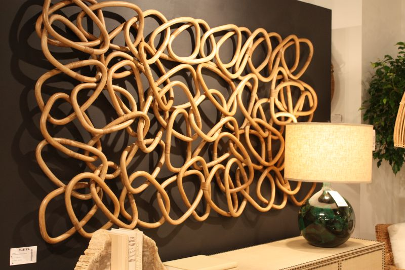 Futuristic Interior Design wood crafting wall decoration ideas