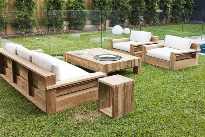 wooden furniture set ideas