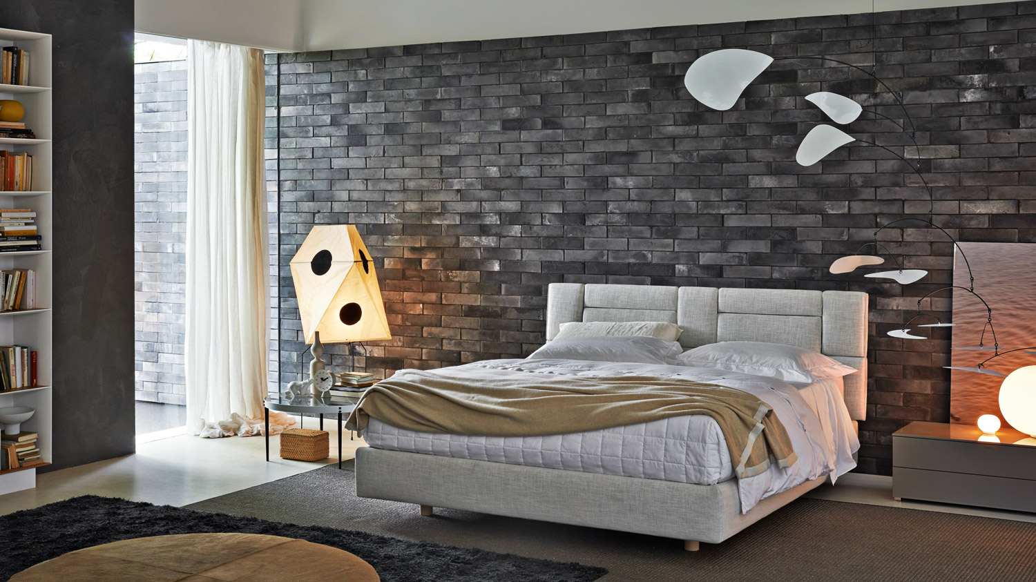 bedroom design with another room connected
