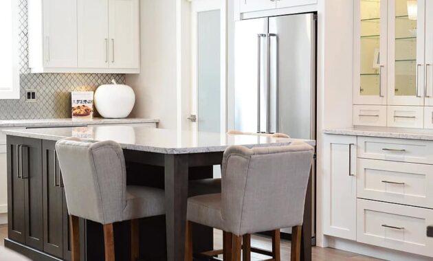 kitchen counter room chairs home interior design modern furniture