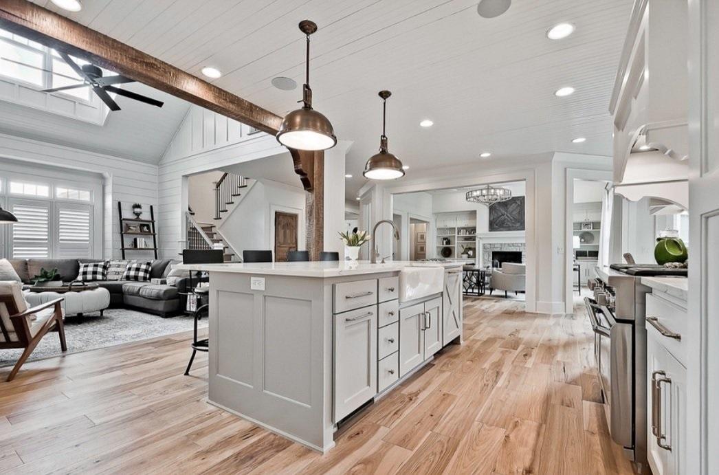 kitchen design ideas wooden floor design
