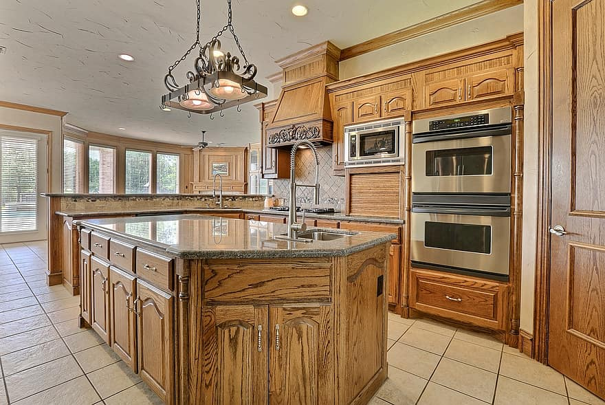 kitchen luxury room interior design