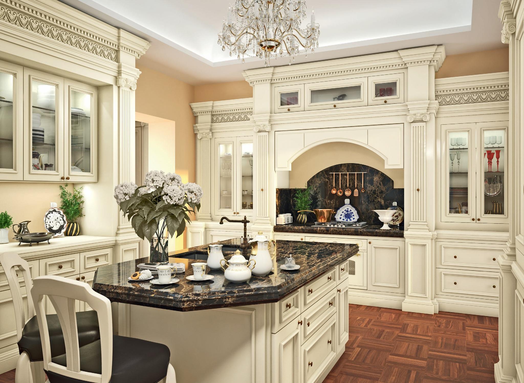 modern classic kitchen cabinet