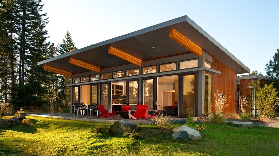 premium materials modular home building
