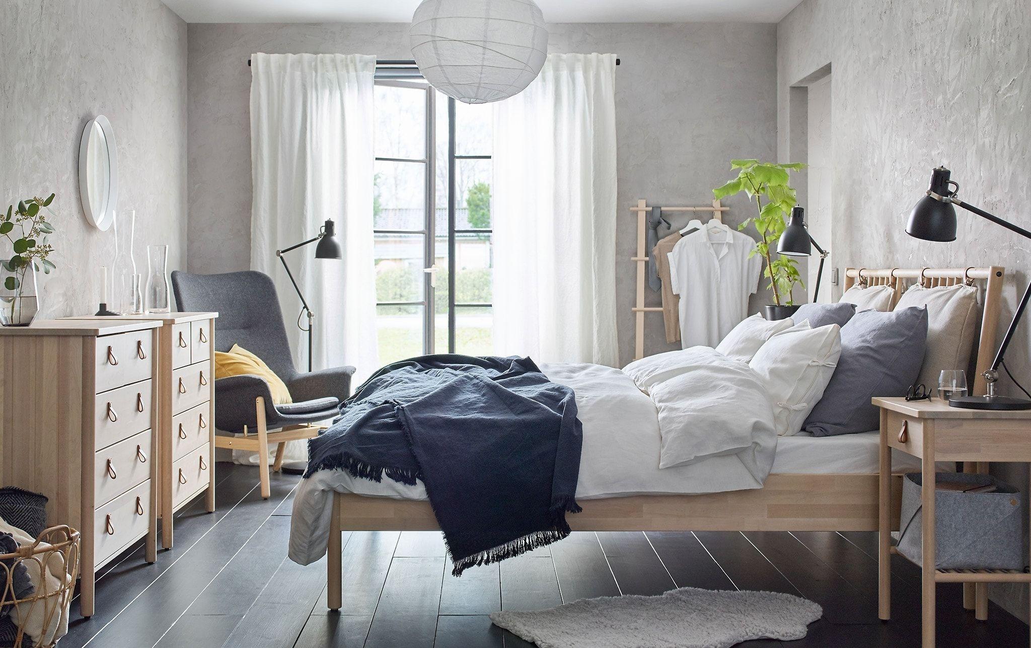 wooden bedroom design ideas
