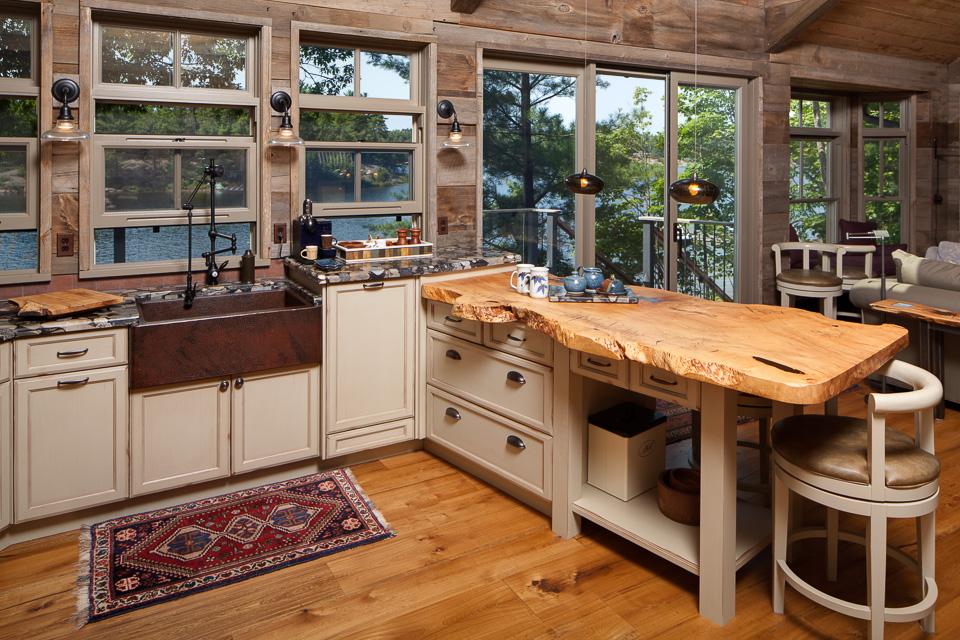wooden kitchen floor plans