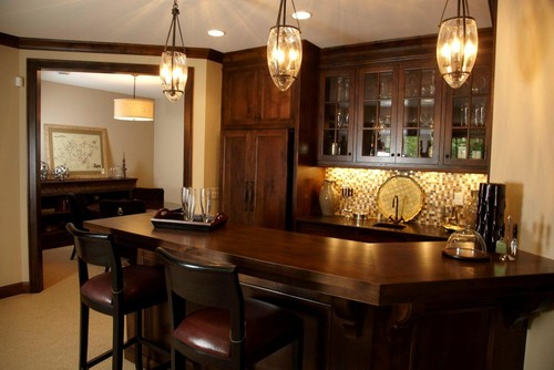 home bar lamp fixture