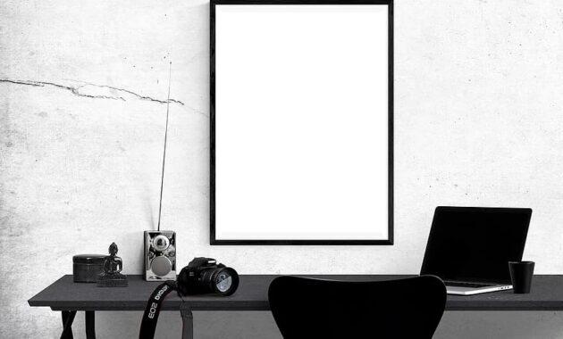 poster mockup mockup poster frame template interior blank space