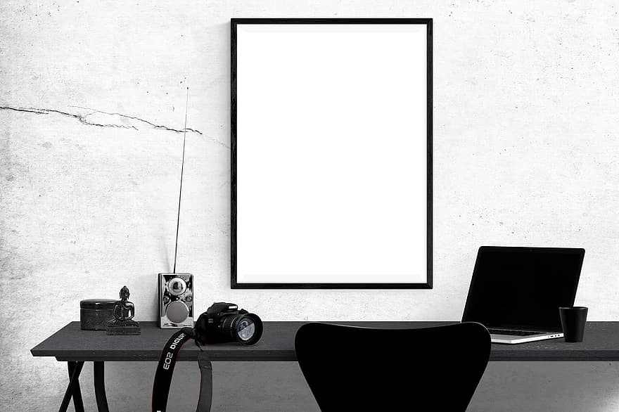 poster mockup mockup poster frame template interior blank space