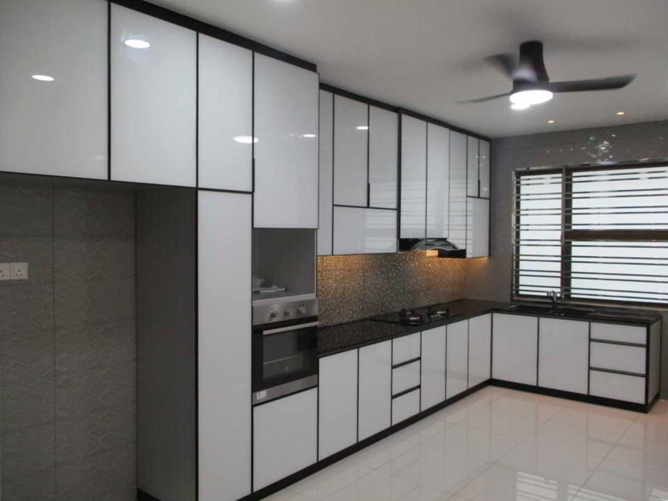 aluminum cabinets design