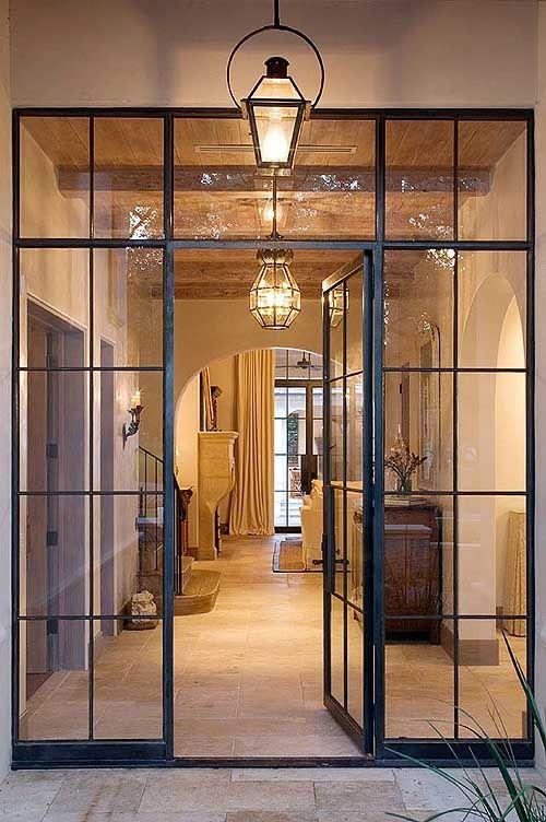 coated steel unique doors