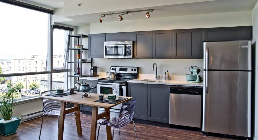 creative grey ideas kitchen cabinets