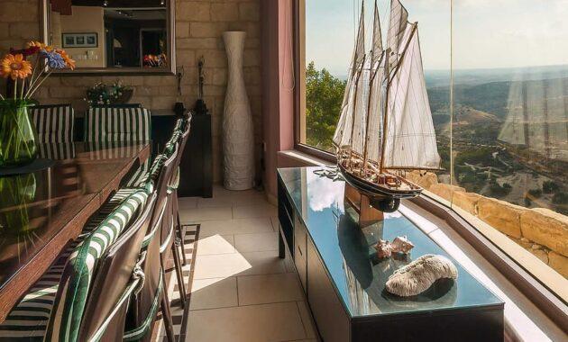 dining room interior shop decor wildow view villa summer tourism