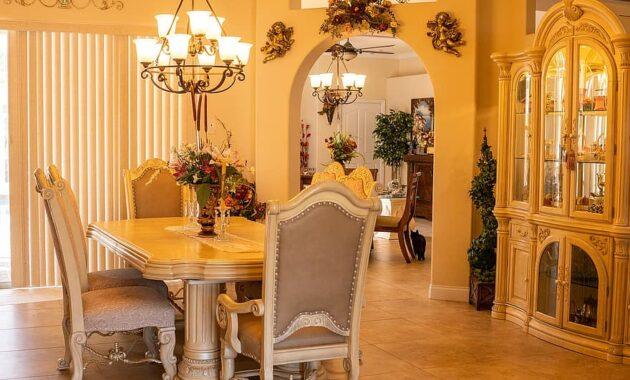 formal dining room interior design dining setting furniture decoration wall