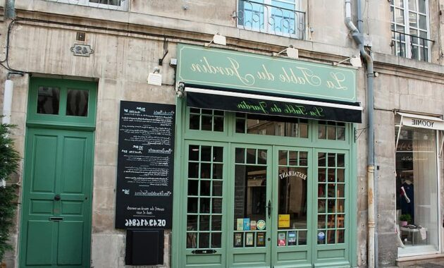 green door french cafe street cafe france city cafe menu board bistro