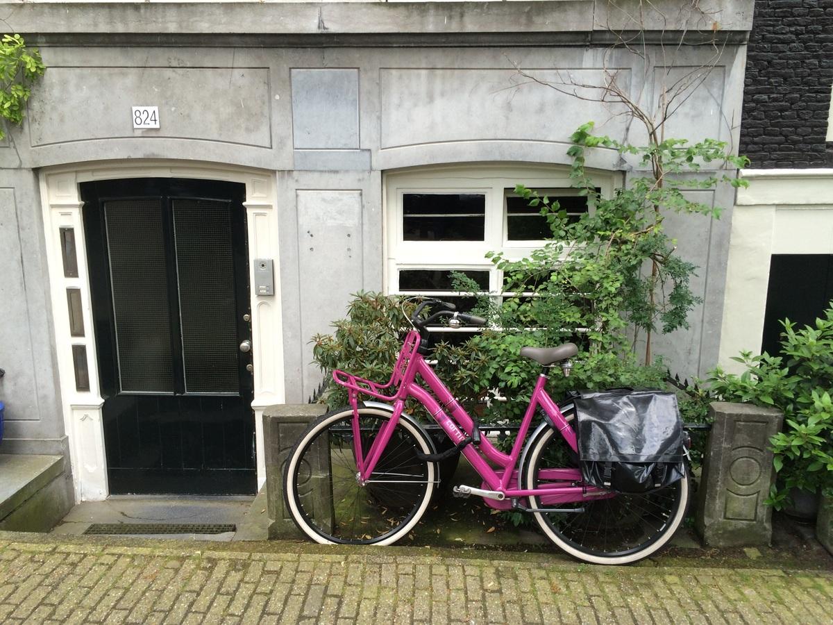 house window bicycle bike city home