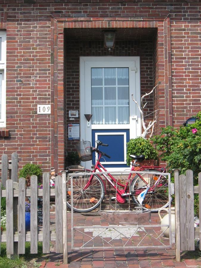 house window bike home wall porch