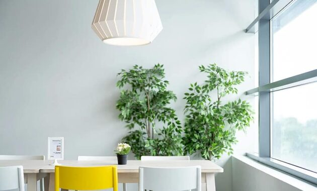 ikea table dining chair lamp plant natural lifestyle life