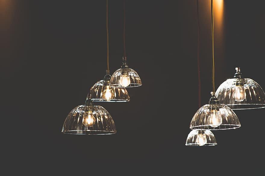 lamp shades light bulbs lights