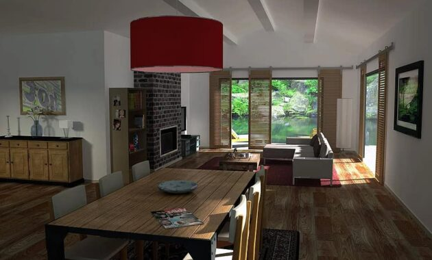 living 3d archi living room dining room made interior decor interior decorating