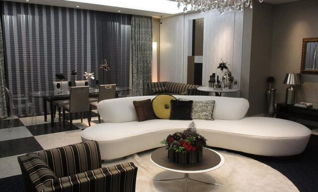 living room chandelier sofa dining table dining table