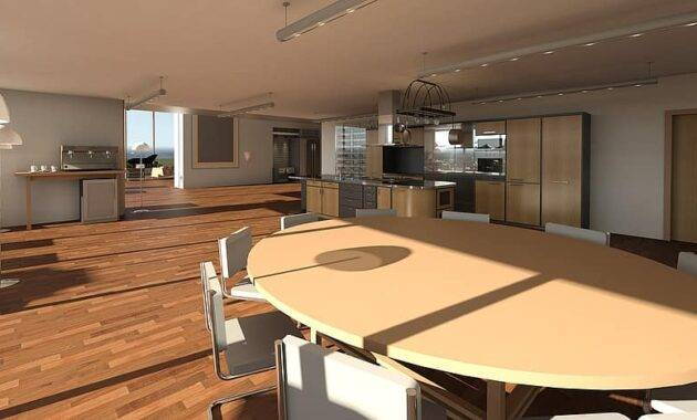 living room living lifestyle table architectural visualization dining table room