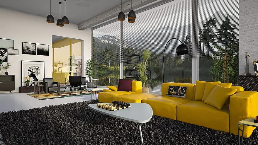 living room sofa couch furniture room the interior of the modern luxury home