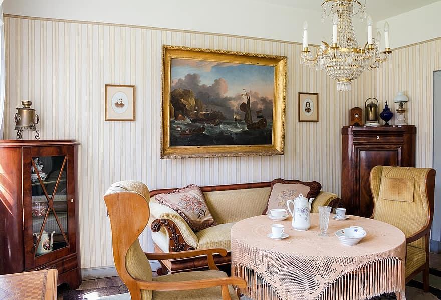 old office freilichtmuseum keel old room old furniture furniture old room setup living room 1