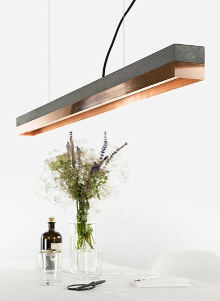 rectangular pendant lamp
