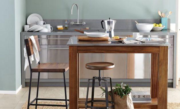 simple steel dining table ideas
