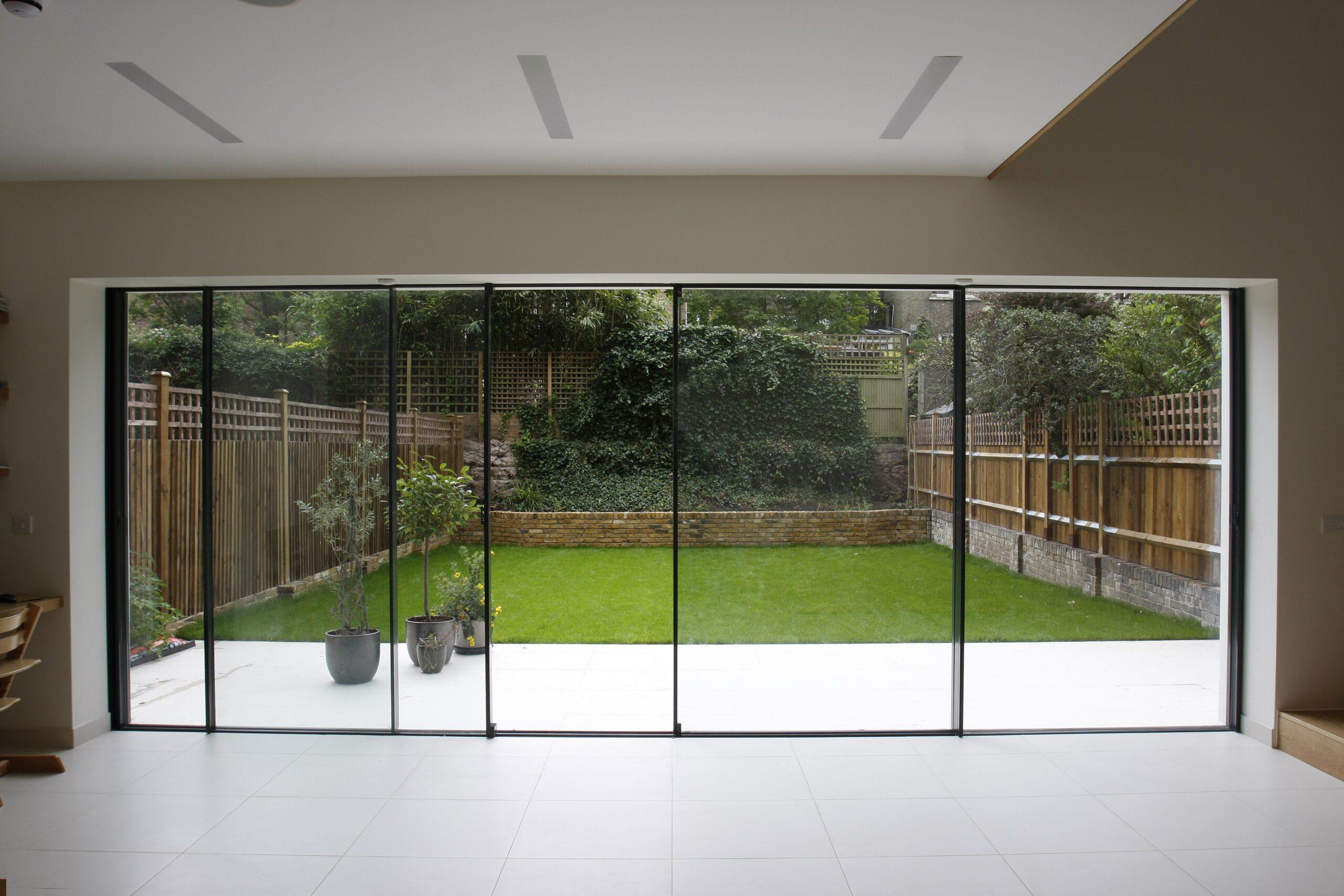 simple wide doors