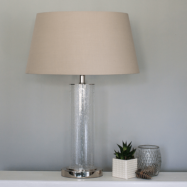 slim oval glass table lamp bedside lamps