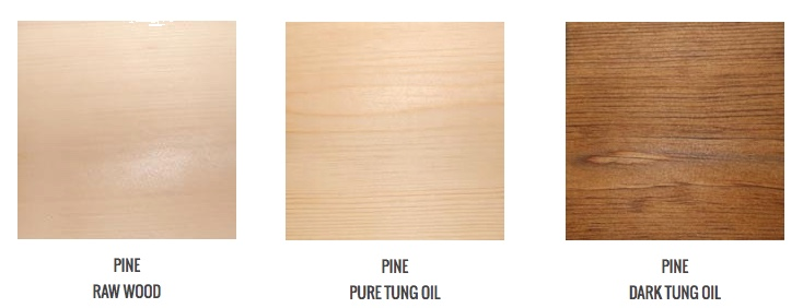 tung oil color ideas