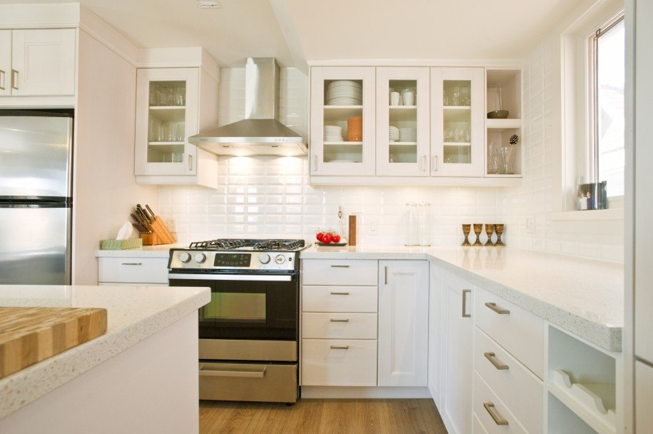 white kitchen design and ideas