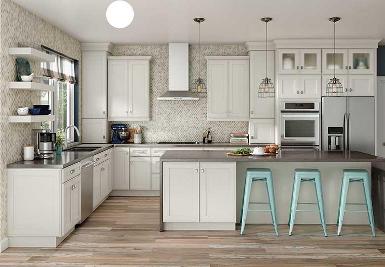 wide doors kitchen cabinet